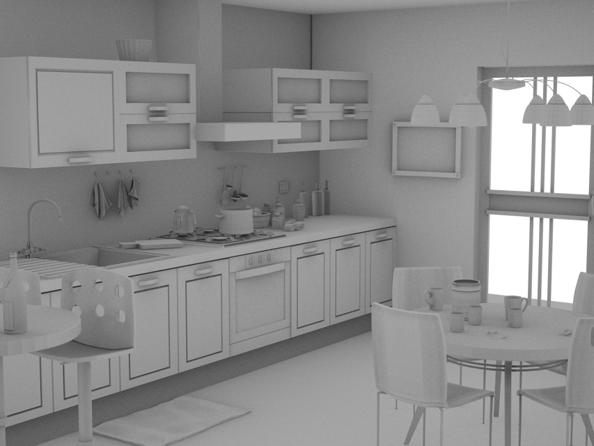 render occlusion