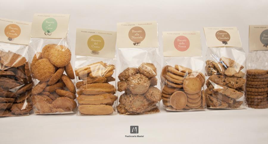 Ben noto Packaging biscotti Pasticceria Mastai - Ermelin LAB PX77