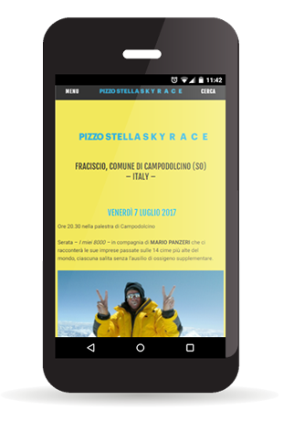 Sito web PizzoStellaSkyrace